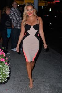 adrienne-bailon-aventine-restaurant-house-of-cb-dress